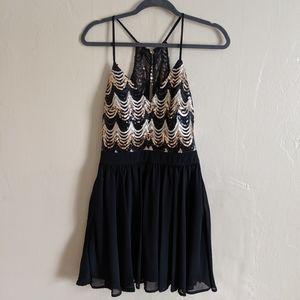 Sequin cocktail dress